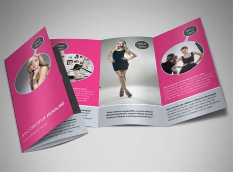 fashion brochure templates fashion photography brochure template mycreativeshop