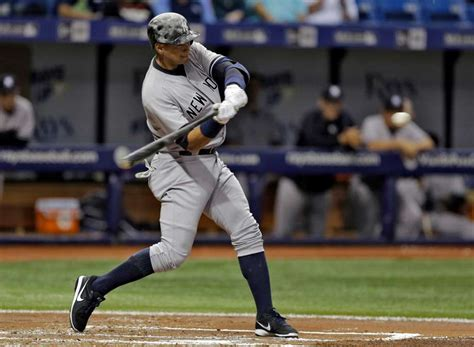 a rod homers carry yankees past rays times union