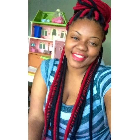 faux yarn dreads on natural hair faux locs with yarn yarn dreads dope hairstyle dope