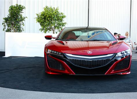 2016 acura nsx picture 643652 car review top speed