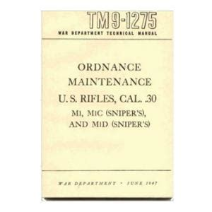 the ordnance manual for the use of the officers of the united states army classic reprint books 30 cal us rifles ordnance maintenance manual flying