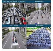 Here Are 200 People In 177 Cars On 3 Buses Without