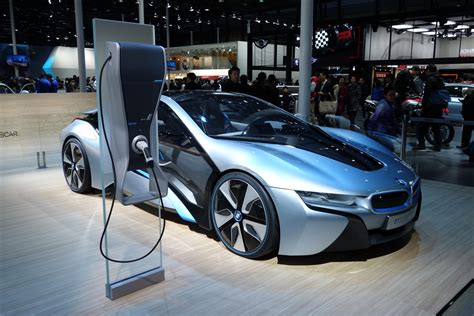 all electric bmw i8 bmw i8 concept an all electric vehicle with easy charging
