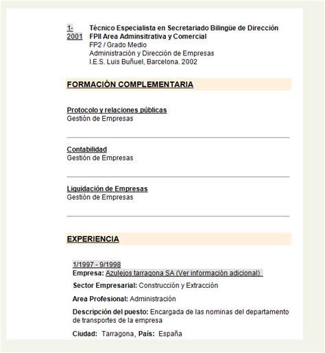 Plantilla De Curriculum Vitae Cronologico Inverso Modelocurriculumcv13 Gratis 20 Modelos Curriculum Vitae En Word Para Descargar Ejemplo
