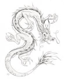 Chinese dragon drawing in pencil chinese dragon by rshaw87