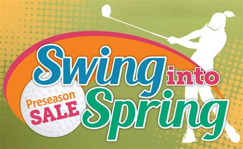 swing into spring swing into spring pro shop sale and new lower season pass