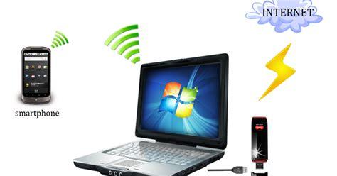 Wifi Berjalan hotspot wifi dari komputer ke handphone eeqspot