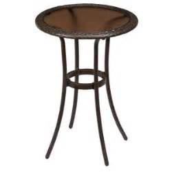 home depot bistro table hton bay mix and match wicker balcony height outdoor