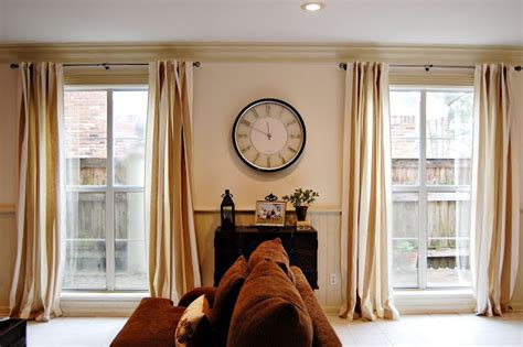 hang curtains high and wide hang curtains high and wide for the home pinterest