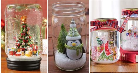 manualidades de navidad con fradcos de gerber adornos navide 241 os con frascos de vidrio reciclados