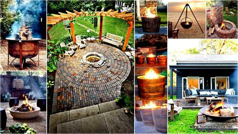 Diy Firepit Ideas 35 Smart Diy Pit Projects Backyard Landscaping Design