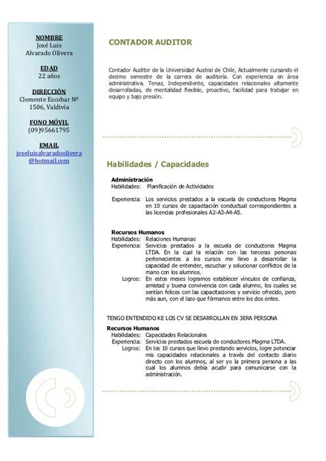 Curriculum Y Modelo Ebi Cv Jose Luis
