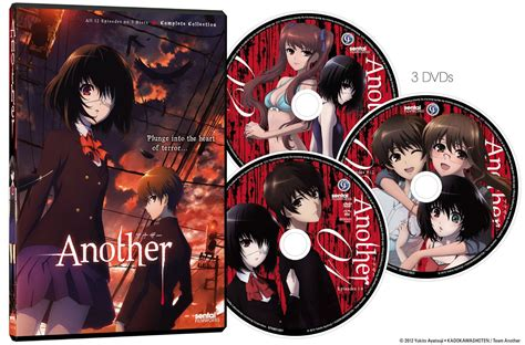 film anime another another complete collection ep 1 12 anime dvd r1 sentai