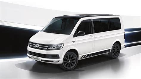 2019 vw multivan volkswagen multivan black edition 2019 pricing confirmed