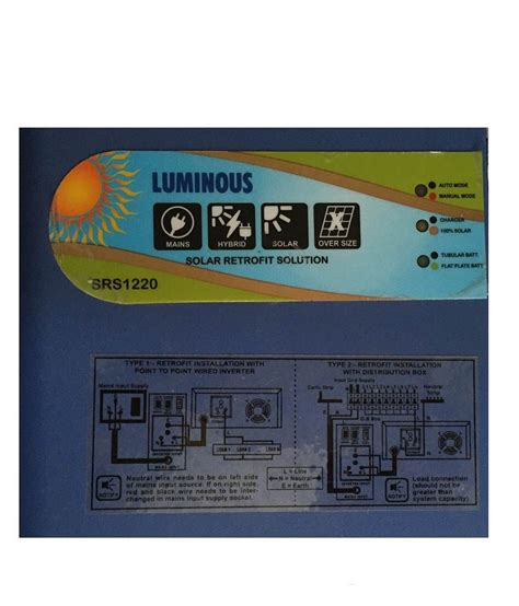 luminous inverter connection diagram free