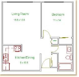 1 bedroom floor plan hilldale towers floor plans