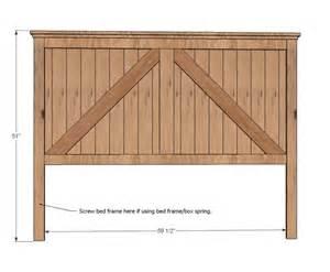 headboard wood woodworking projects plans