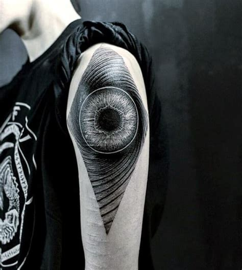 tattoo eye shoulder eye tattoos for men ideas and inspiration for guys
