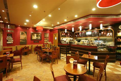 Costa Coffee Interior Design by Design5 New Delhi Services Design Consultancy