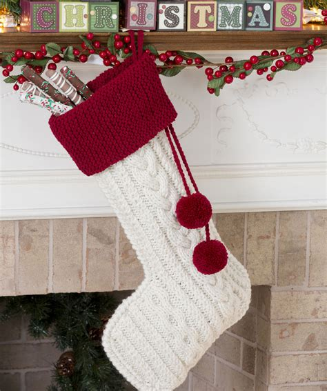 pattern knit christmas stocking the knitting needle and the damage done a run of