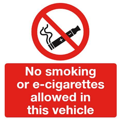 no smoking sign in bangla no smoking or e cigarettes allowed e cig vehicle sign