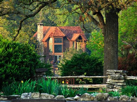 Cabins In The Ozarks by Cabins Are Tucked Away In The Ozark Mountains To