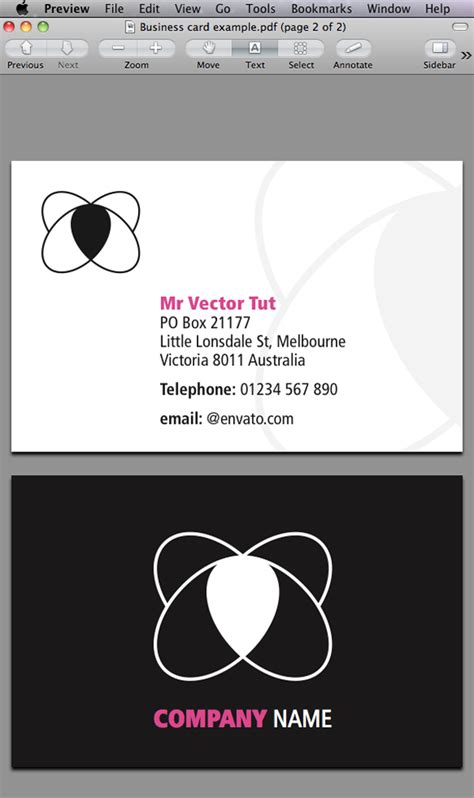 tutorial indesign business card quick tip designing a business card with indesign cs5