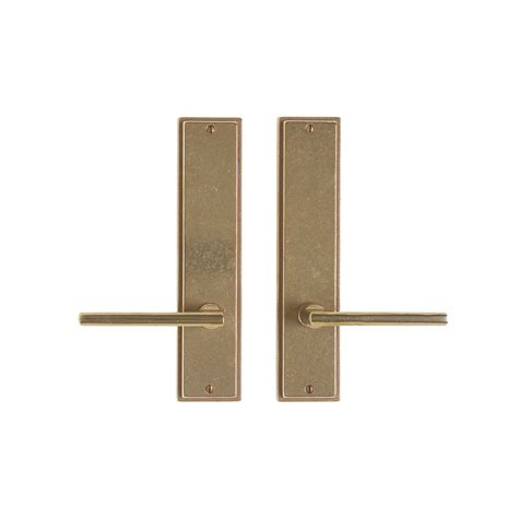 Interior Door Hardware Sets Stepped Passage Set 2 1 2 Quot X 11 Quot Passage Latch E312 Rocky Mountain Hardware