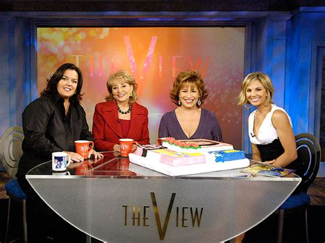 Rosie Odonnell Is Staying On The View For Now by Jake S Take Celebrates Quot The View S 20th Anniversary Season Quot
