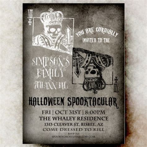 22 Halloween Wedding Invitation Templates Free Sle Exle Format Download Free Skull Invitation Templates