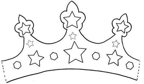 fabulous royal princess crown coloring page netart