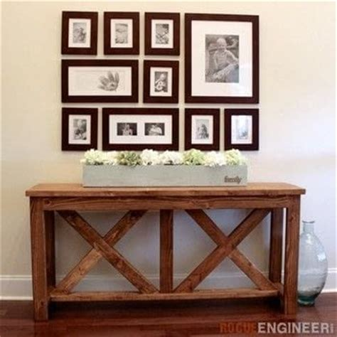 X Brace Console Table X Brace Console Table 183 How To Make A Side Table 183 Home Diy On Cut Out Keep