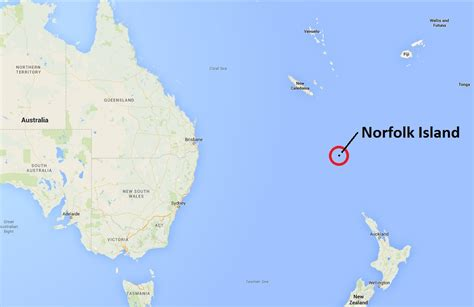norfolk island map norfolk island s parliament will be dissolved and its