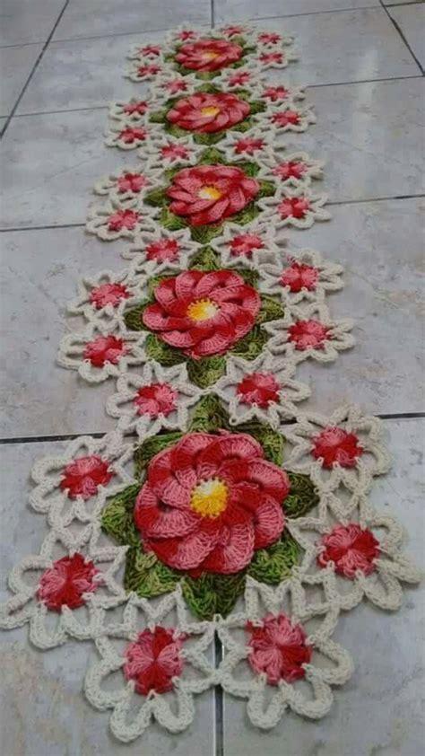 Crochet Home Decor Patterns Free 17 melhores imagens sobre tapetes en crochet no pinterest