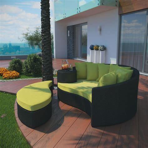 brayden studio greening outdoor daybed  ottoman
