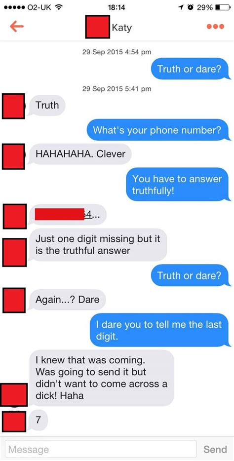 Or Dares Text Tinder User S Or Trick Bags Him Plenty Of Numbers Daily