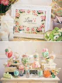 vintage floral high tea bridal shower hostess with the