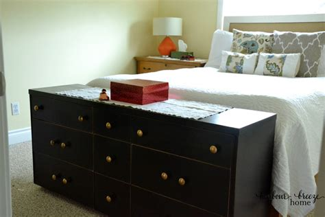 end of bed dresser 5 simple ways to organize a small master bedroom harbour