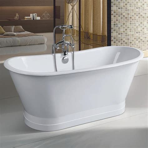 skirted bathtub una cast iron skirted bathtub 2201un 67 0 w maidstone wholesale