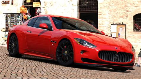 red maserati granturismo maserati granturismo sport red image 272