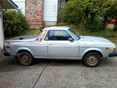 1978 subaru brat for sale 1979 subaru brat for sale in lynnwood seattle washington