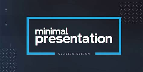 free template after effects presentation videohive minimal presentation 19450170 free download