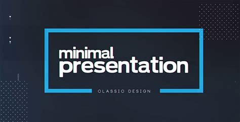 videohive minimal presentation 19450170 free download