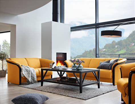 Stress Free Sofa by Ekornes Manhattan 3 Seat Sofa Ships Stress Free