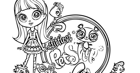 coloring pages for littlest pet shop littlest pet shop coloring pages to color for free