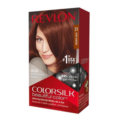 Revlon Colorsilk Hair Color revlon colorsilk hair color 31 auburn target
