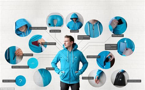 Travel Pillow Hoodie mailonline meets the designers the travel jacket