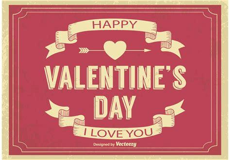 valentine s old valentine s day illustration download free vector