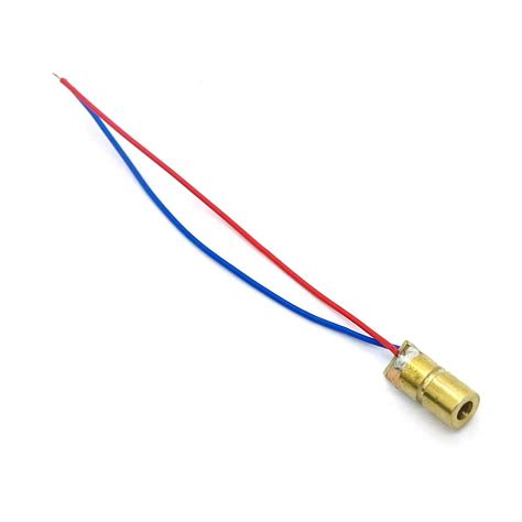 laser diode 650nm 1pc 650nm 6mm 5v 5mw laser dot diode module