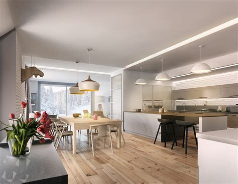 3 Picturesque Scandinavian Country Style Interior Design RooHome Designs & Plans
